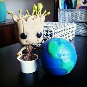 baby groot world
