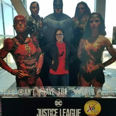 Kate and the Justice League